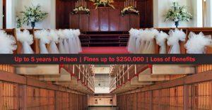"""""""骗婚绿卡""""是联邦罪,骗婚人将面临牢狱之灾和递解出境"""