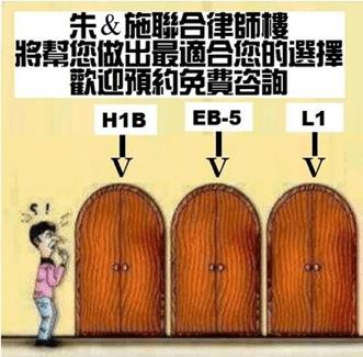 與其坐以待毙等待命運審判,不如主動出擊尋找多方備案:恐H1B抽不中或政策突变?L1/EB5或是更好选择!