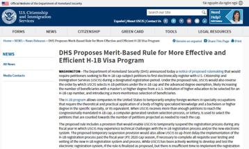 H1B新提案将改变抽签方式,部分申请人中签率提高16%